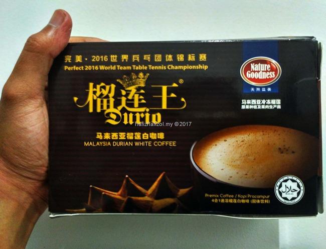 Original Durian White Coffee,Penggemar Durian Kena Cuba!