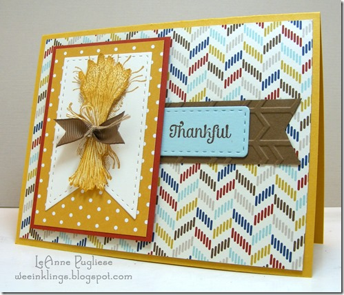 LeAnne Pugliese WeeInklings Paper Players 272 Truly Grateful Stampin Up  - Copy