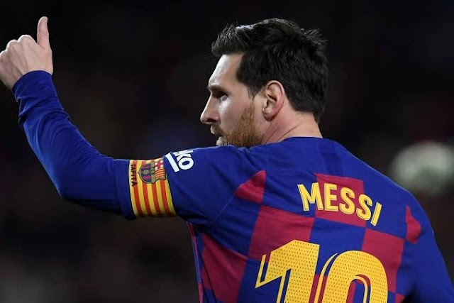 Messi Tells Barcelona, He Wishes To Leave