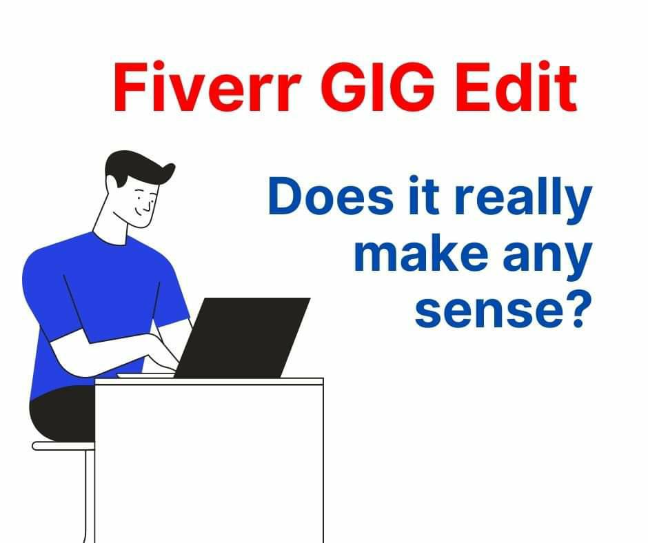 Fiverr gig edit 2020
