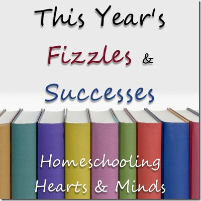 End of year recap at Homeschooling Hearts & Minds