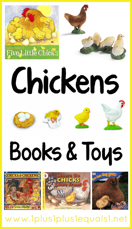 Chickens Books and Toys