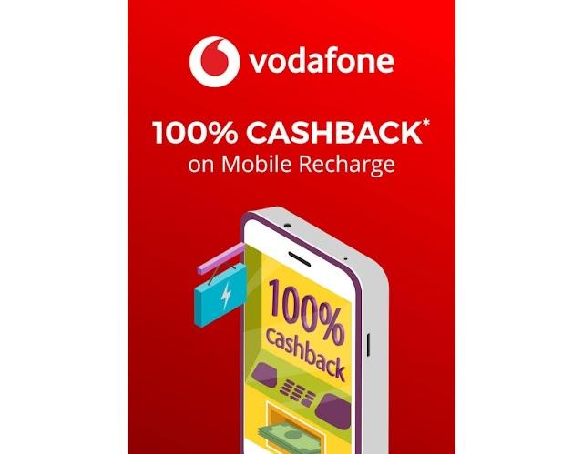 Vodafone - Get 100% Cashback on SuperPlan Recharges via MyVodafone Mobile App