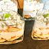 Tiramisu de salmón en vasitos