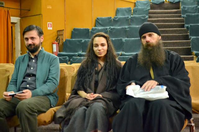 106 Avva Justin Parvu si Sfintii inchisorilor (Teatrul Luceafarul, Iasi, 2014.03.19)
