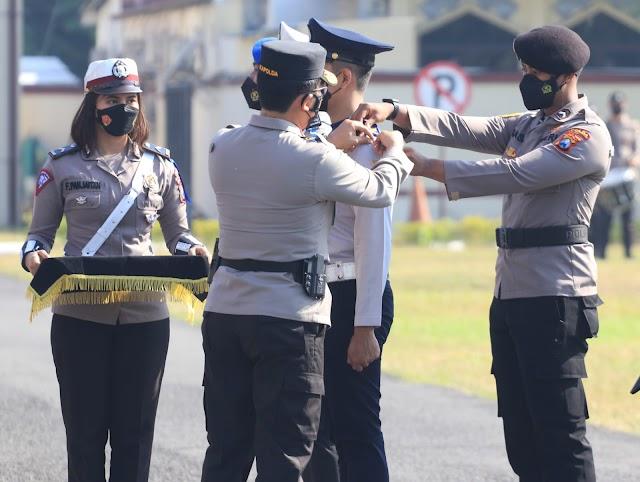 Kapolda Jatim Pimpin Apel Gelar  Operasi Patuh Semeru 2021, Ada Empat Poin Sasaran Utama