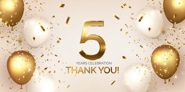 Aniversário de 5 anos do Blog Professora Manuka