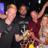 bottle service with friends at BABE18 in Taipei in Taipei, T'ai-pei county, Taiwan