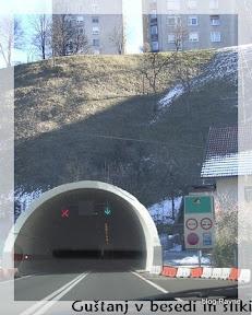 Tunel pod Čečovjem, verjetno samo na sliki :)