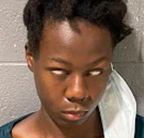 Nigerian woman gives eerie look in mugshot after she was arrested in US for 'wanting to blow up hospital'