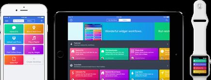 Pois bem, pesquisando na net encontrei um artigo sobre o assunto no Blog do  iPhone . Recentemente a Apple comprou um app chamado Workflow que entre  suas ...