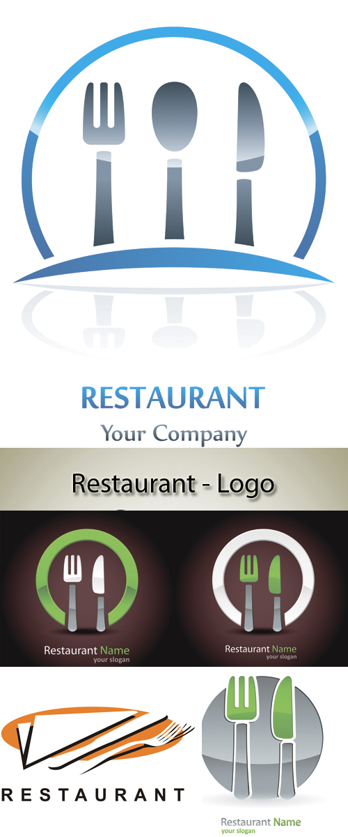 Stock: Restaurant - Logo