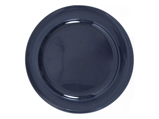 Billy Cotton Indigo Dinner Plate