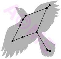 αετός αστερισμός,hawk constellation.