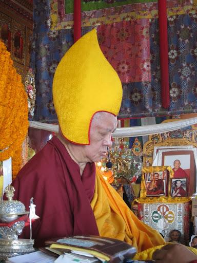 Long life puja at Kopan Monastery, December, 2012.