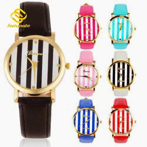7 Colors Fashion GENEVA Women Dress Watches Ladies Quar
