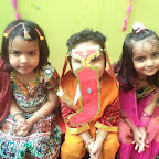 Ganesh Chaturthi Celebration WKSN (Playgroup To Junior KG) 17/09/2015