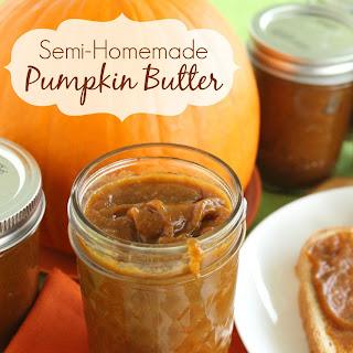 Semi-Homemade Pumpkin Butter