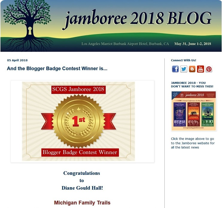 2018 Jamboree winner