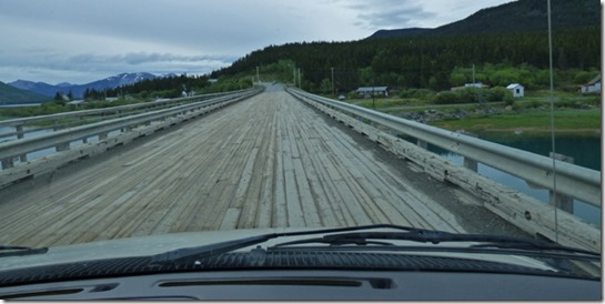 Carcross Wooden Bridge, Yukon, Klondike Highway