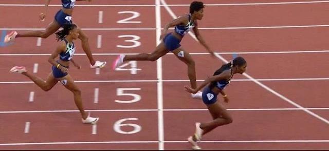 Marileidy llega segunda en final de la Liga Diamante de 400 metros planos