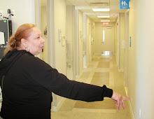 Dental assistant Maritza Mojica shows us the new facilities