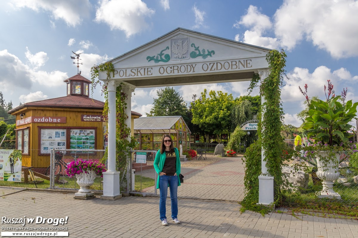 Wejście do ogrodów Frank-Raj