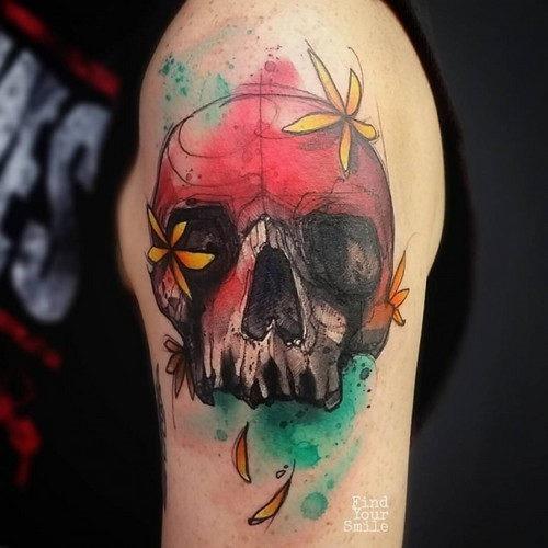 este_incrvel_florido_tatuagem_de_caveira