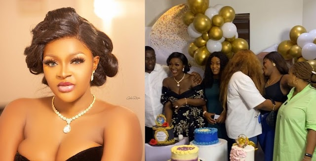 Chacha Eke Confuses Fans After Celebrating Her 34th And 35th Birthday At Once