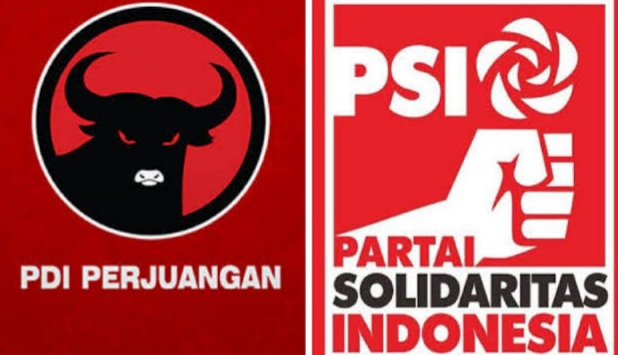 Survei Membuktikan: Usulkan Interpelasi, PDI Perjuangan Dan PSI Unggul Di Jakarta, Sebihnya Mengalami Penurunan