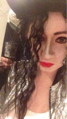 Sammi Jackson - Michael Jackson Halloween Look #bmspookbook