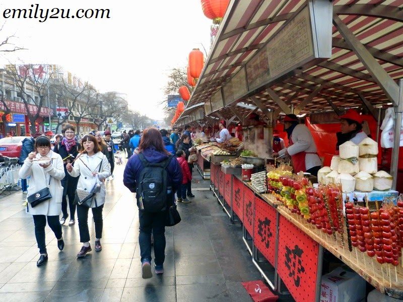 Wang Fu Jing Night Food Market, Beijing, China