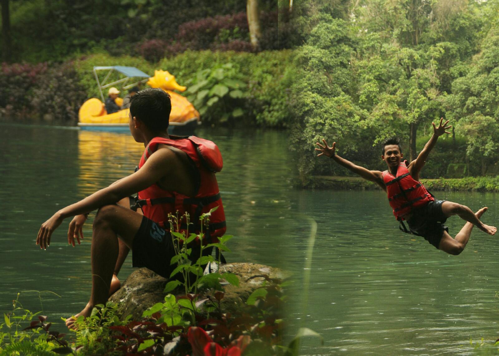 Situ Cipanten Majalengka Objek Wisata Jawa Barat Dengan Wahana Yang Penuh Warna