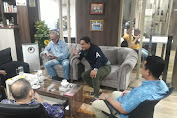 Menuju Revolusi De'Visioner Iringi Indonesia Maju, Ketum AWII dan FKMB Jalin Silaturahmi