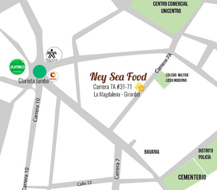 Mapa Ney Sea Food