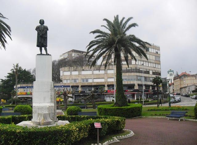 Plaza de las Brisas en Santander