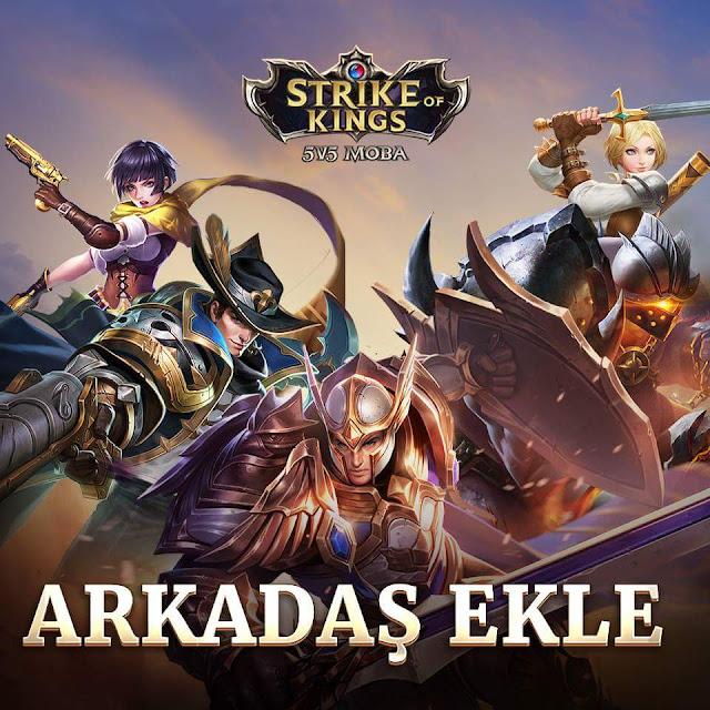 Strike of Kings Türkiye Facebook Sayfasından Arkadaş Ekle Paylaşımı