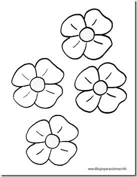 11flores primavera colorear  (32)