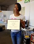 Ernisha Moore, WRC Student Highlight and Graduate, October 2014