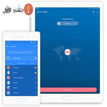 Safervpn android
