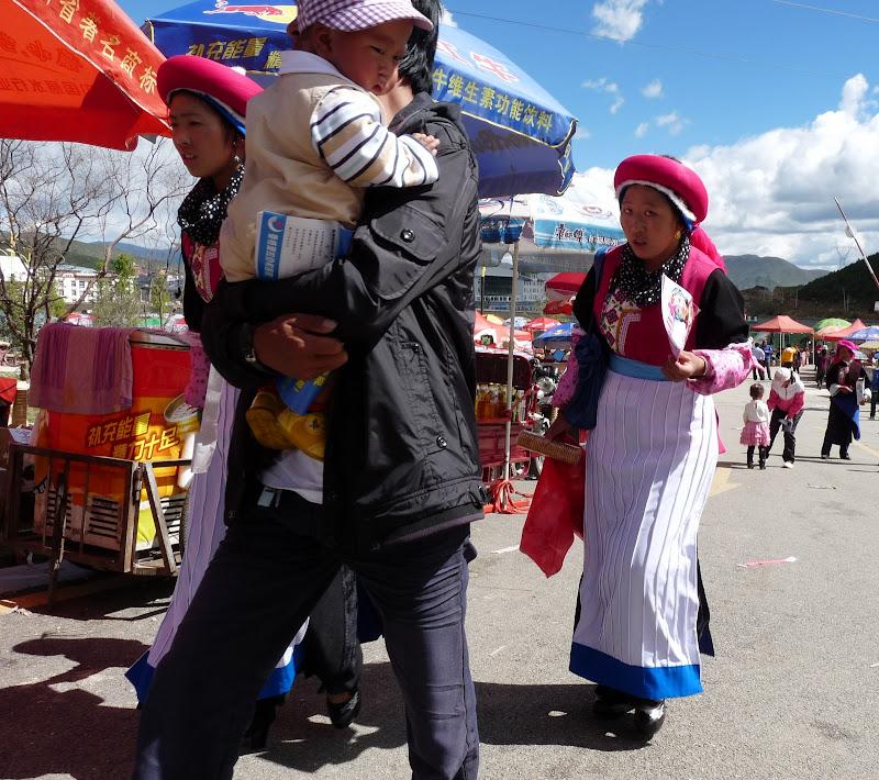 Chine. Yunnan.Shangri la Course hippique annuelle - P1250730.JPG