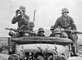 Немецкая пехота на марше
