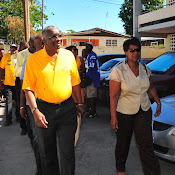 PM Freundel Stuart Nomination Day