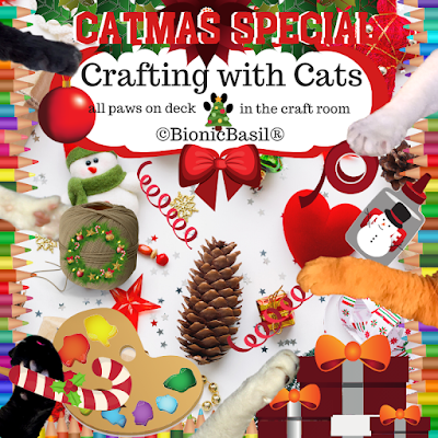 Festive Crafting with Cats Banner ©BionicBasil®