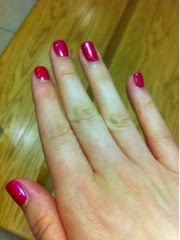 gel, gellux, manicure, pedicure, hot pink