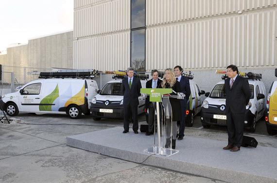 18 vehículos eléctricos para las brigadas de Iberdrola Distribución