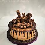 Chocolate Labrador drip cake 2.JPG