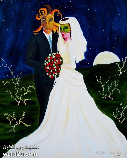 الرسامة الباكستانية سامينا اسلام Samina Islam