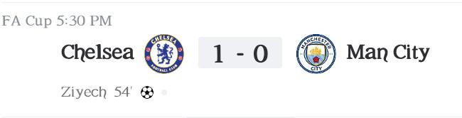 FA Cup Semi-final: Ziyech goal seals final ticket as Chelsea beat Man City (Highlights) 2020-2021
