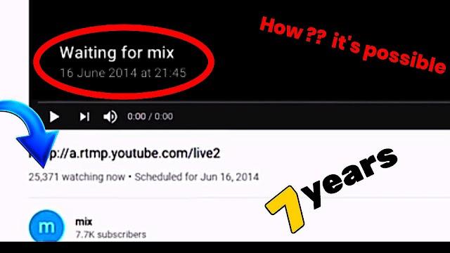 OLDEST WAITING LIVESTREAM  on YouTube |  YouTube's biggest glitch